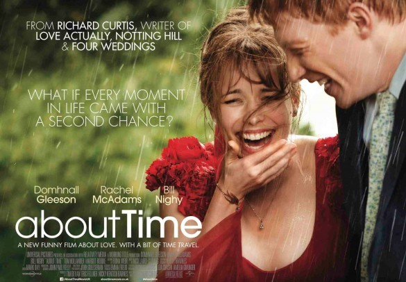 About Time UK Quad Poster 585x443