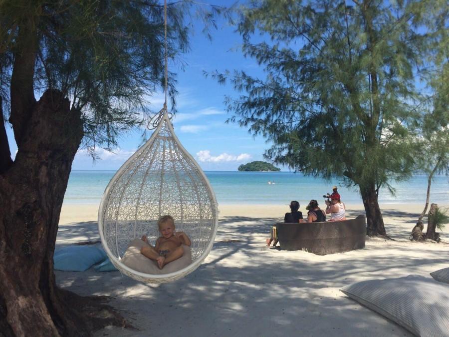 Пляж в Камбодже